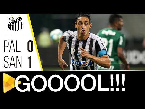 Palmeiras 0 x 1 Santos | GOL | Brasileirão (30/09/17)