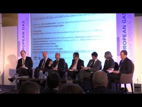 European Gas Conference 2016 - Panel Discussion