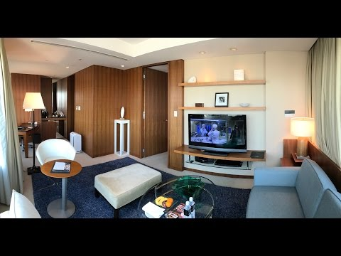"""[4K] The Strings by InterContinental Tokyo, Executive Suite """"The Suite"""" (Two Single Beds Attached)"""