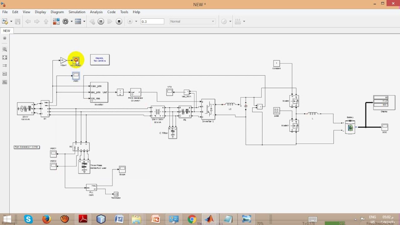Wind Power Energy Diagram Block Wiring Explanation Nuclear Plant Application And Modeling Of Battery Storage In Systems Ieee 2016 System Solar