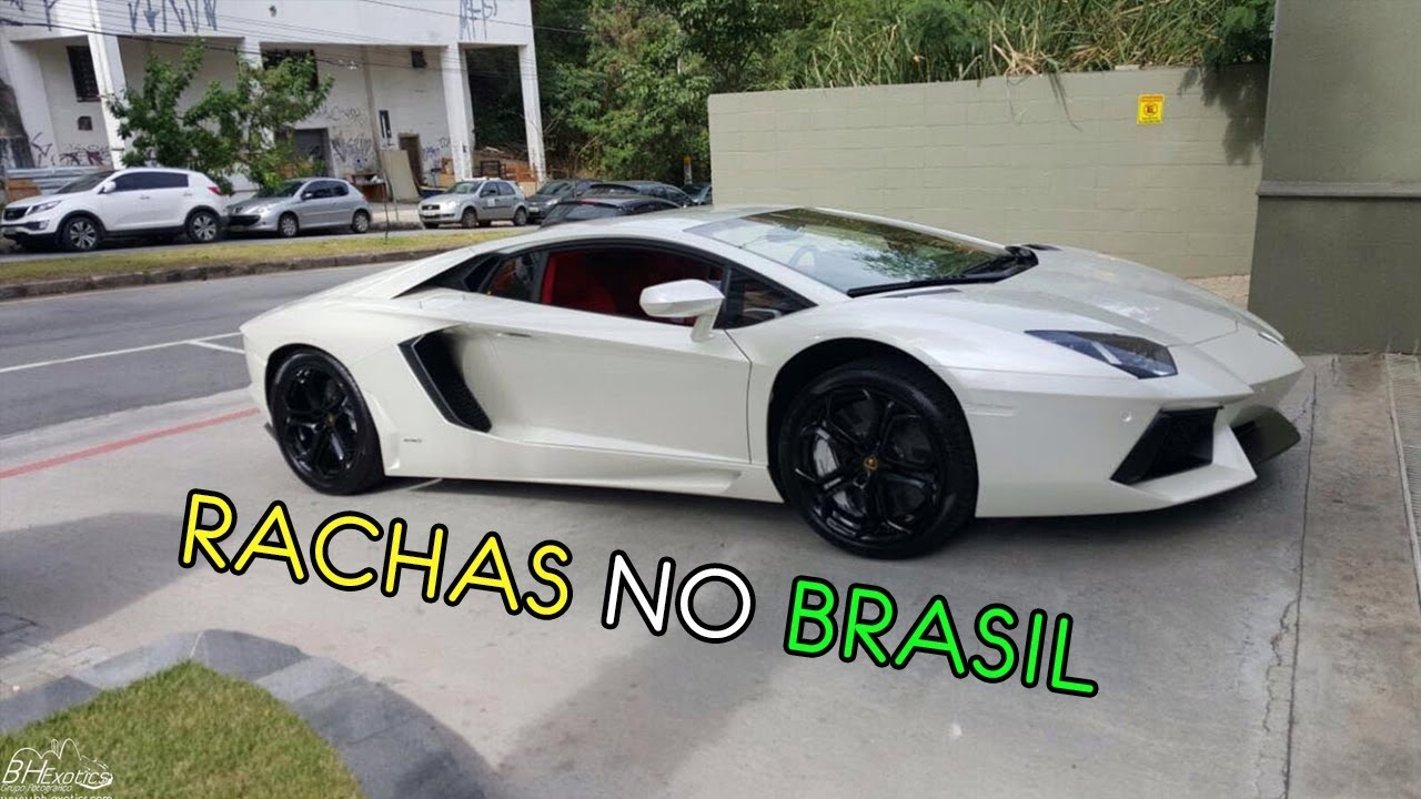 lamborghini aventador - acelerando forte no brasil - youtube
