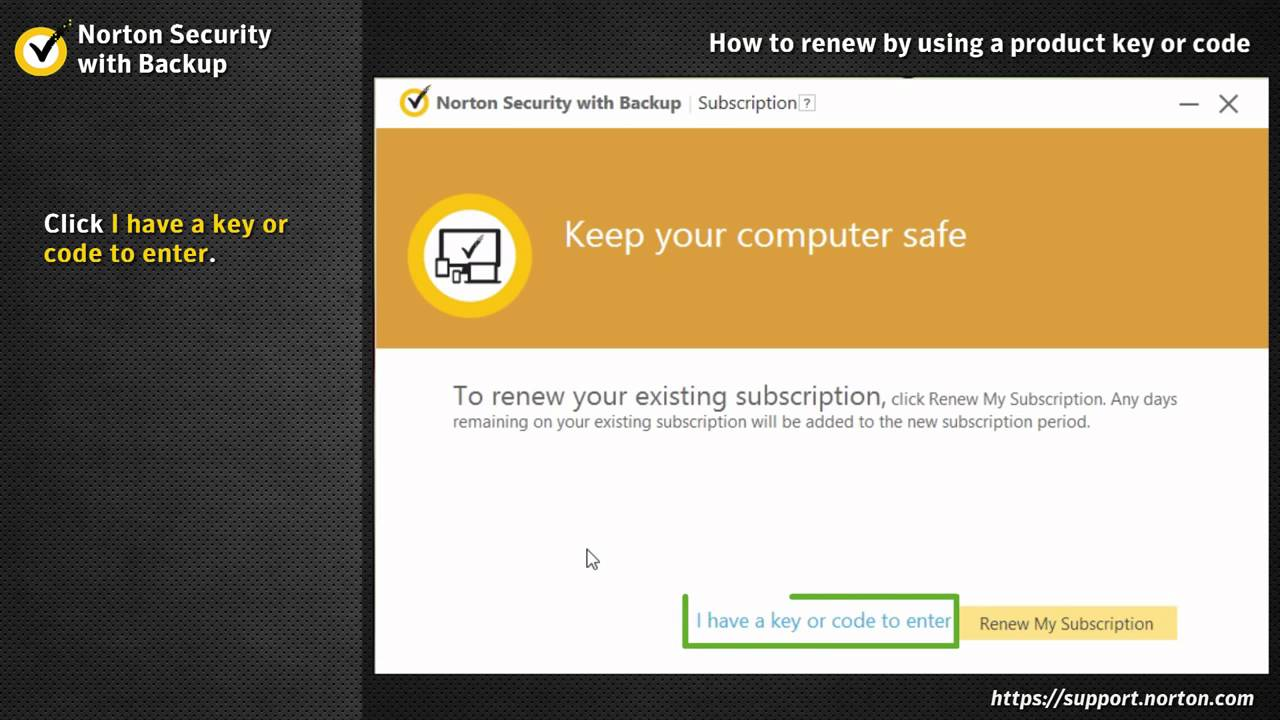 norton security deluxe key code