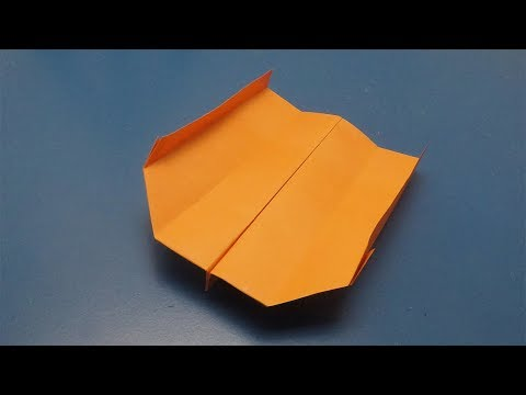 How To Make A Paper Boomerang Airplane - Craft Times