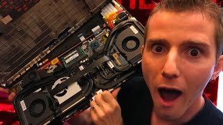 5 POUNDS of Heatpipe Cooling! MSI GT83