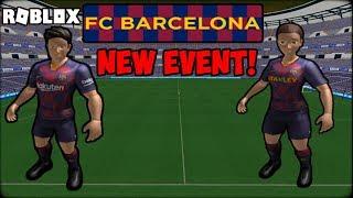 ⚽*NEW* FC BARCELONA EVENT (ROBLOX!) ⚽