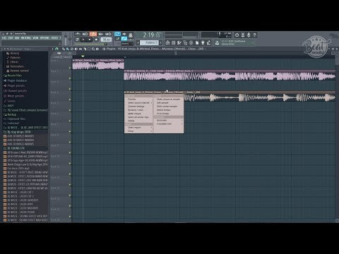 FL Studio Mixtape Tutorials : How to Mix Two Tracks of Different BPM/ Tempo. part 1
