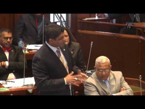 Fijian Attorney-General Aiyaz Sayed-Khaiyum explains on the sentencing of George Speight