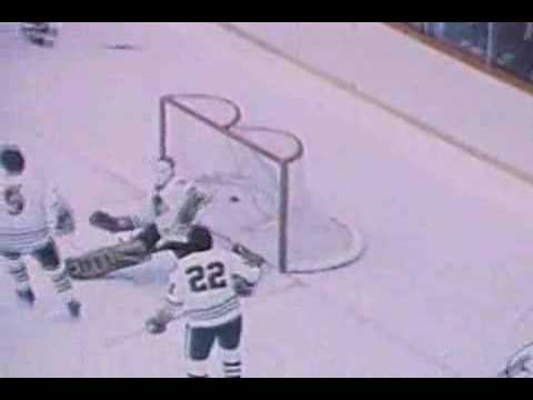 1973 : Coupe Stanley #18 vs. Chicago Blackhawks