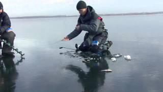 ''Прості радості'' кращі моменти. Озеро Смоліне, перший лід.