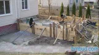 Этапы строительства пристройки к дому,