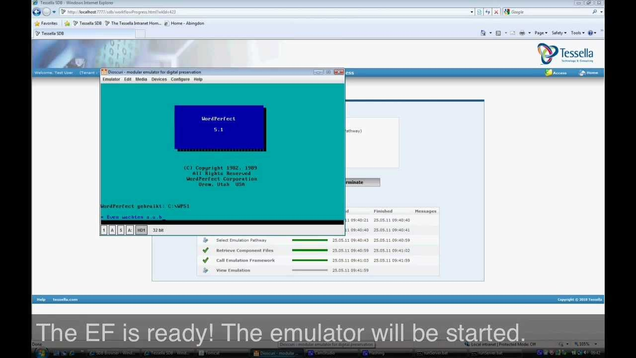 Emulation Framework [EF]