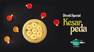 Kesar Peda  Diwali Special Sweets Recipes  Peda Recipe  Milk Peda  one whistle