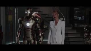 Ironman 3  Tony y Pepper (momentos & Ataque de ansiedad) HD