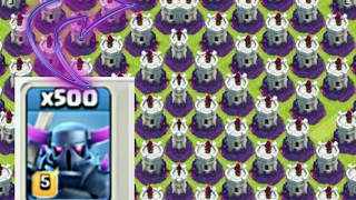 Wow! x300 Wiz Towers Vs x500 Pekka | COC Private Server |Clash of Clans Hack/Glitch|Unlimited troops