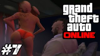 [LUŹNE GRANIE] GTA V Online #7 - Wizyta w Strip Clubie! (With: Max) /Zagrajmy w