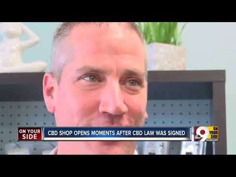 CBD Shop Opens Moments After CBD Became Legal