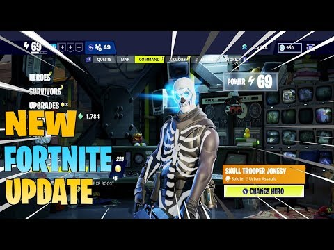 New Fortnite Save The World UI Update Discussion