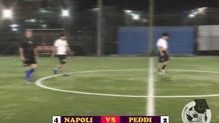 CALCIO A 7 CAPODICHINO NAPOLI VS PEDDI HIGHLIGHTS