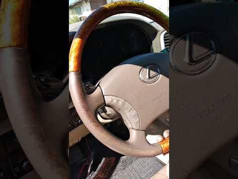 VGRS LX-470 как выставить руль ровно .