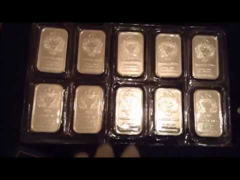 Scottsdale Silver Bullion Bar Invest in Silver Economy Dollar to Crash