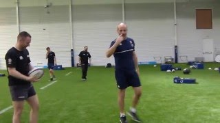 Paul Gustard on rugby defence play