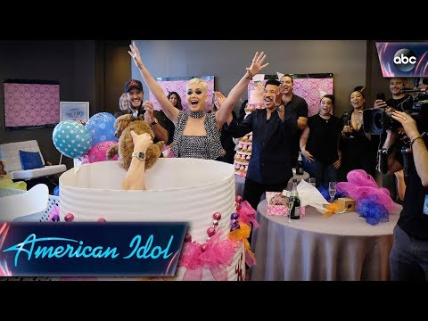 Katy Perry's Surprise Birthday Puppy Party - American Idol On ABC