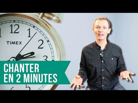 Apprendre à chanter en 2 MINUTES - #BienChanter n°65