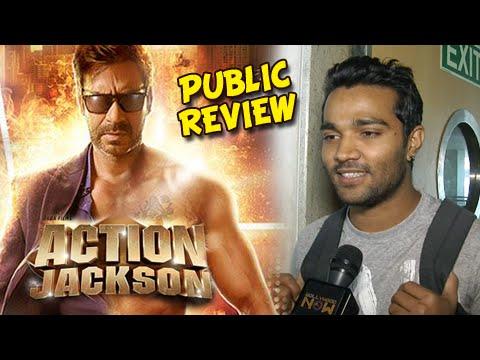 Action Jackson Public Review   Ajay Devgn, Sonakshi Sinha