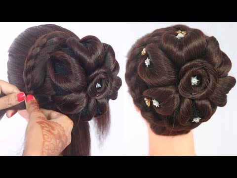 new hairstyle | hair style girl | simple hairstyle | bridal hairstyle | simple hairstyle for girls thumbnail