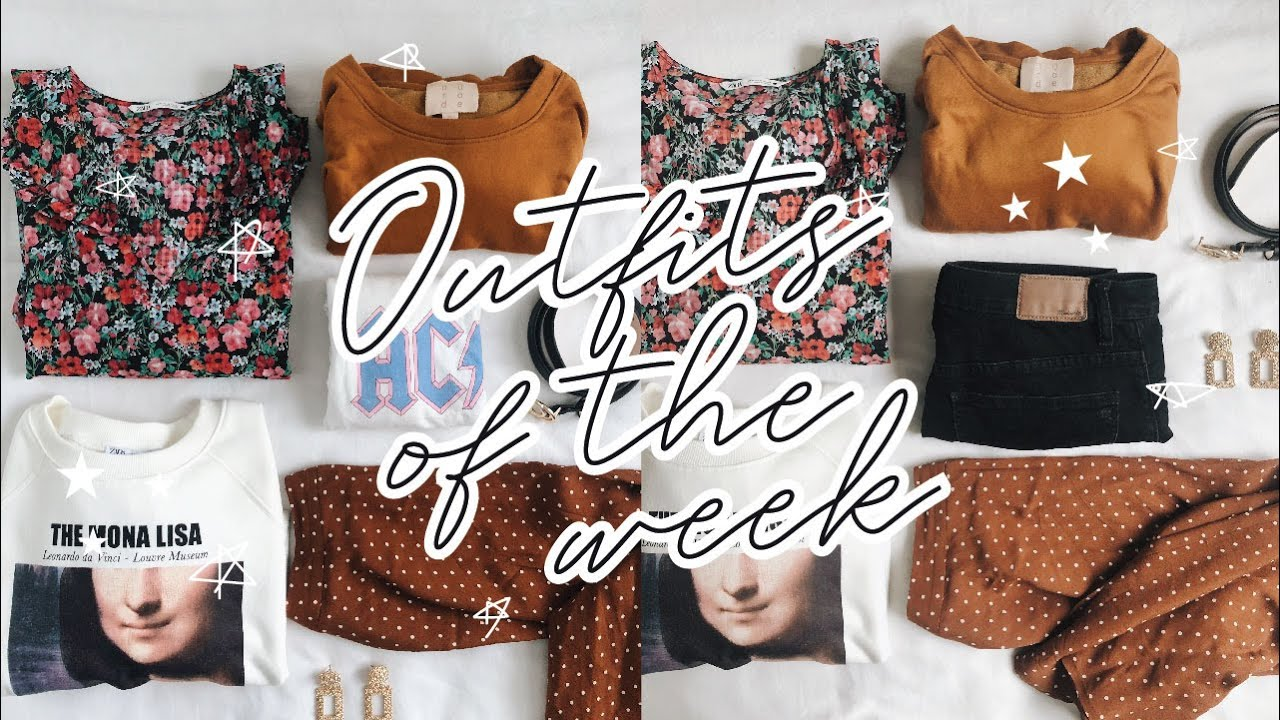[VIDEO] - Outfits of the week: Fall Outfit ideas 9