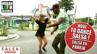 HOW TO DANCE SALSA ► J LOVE ► TE OLVIDE ► SALSA CHOREOGRAPHY 2016 ► COMO SE BAILE SALSA