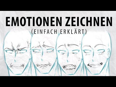 Emotionen richtig zeichnen lernen | Tutorial | Drawinglikeasir