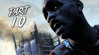 Dying Light Walkthrough Gameplay Part 10 - Zombie Horde - Campaign Mission 8 (PS4 Xbox One)