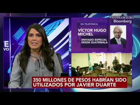 Se trató a Javier Duarte durante traslado a tribunal como pandillero o Mara Salvatrucha:Michel