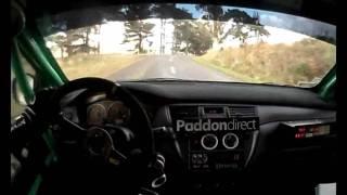 Hayden Paddon In-car - SS10 Rally Wairarapa