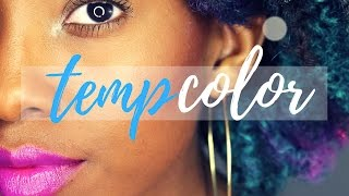 Temporary Hair Color on Natural Hair | Beyond The Zone at Sally