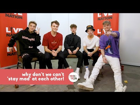 Jonah and Zach Get Mad At Why Don't We for 5 mins | TEENAGE