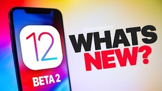 12 NEW iOS 12 Beta 2 Changes & Features - What's New? REVIEW!