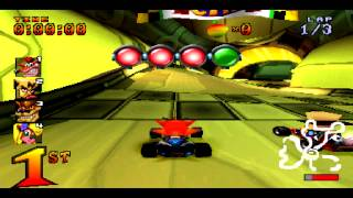 بعض أسرار لعبة crash time racing