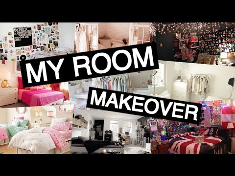 MY ROOM MAKEOVER! DIY Tumblr Room | Part 1