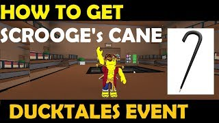 Roblox DuckTales Event [#2] - How To Get Scrooge's Cane