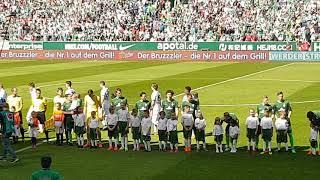 Werder gegen Bayer Leverkusen/ Abschied Zlatko Junuzovic