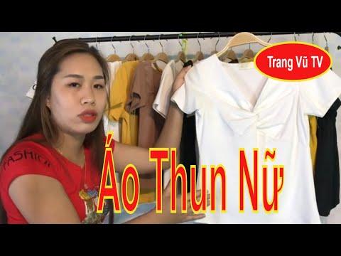áo thun quảng châu rẻ đẹp 2020 cho chị em phụ nữ- trangvutv