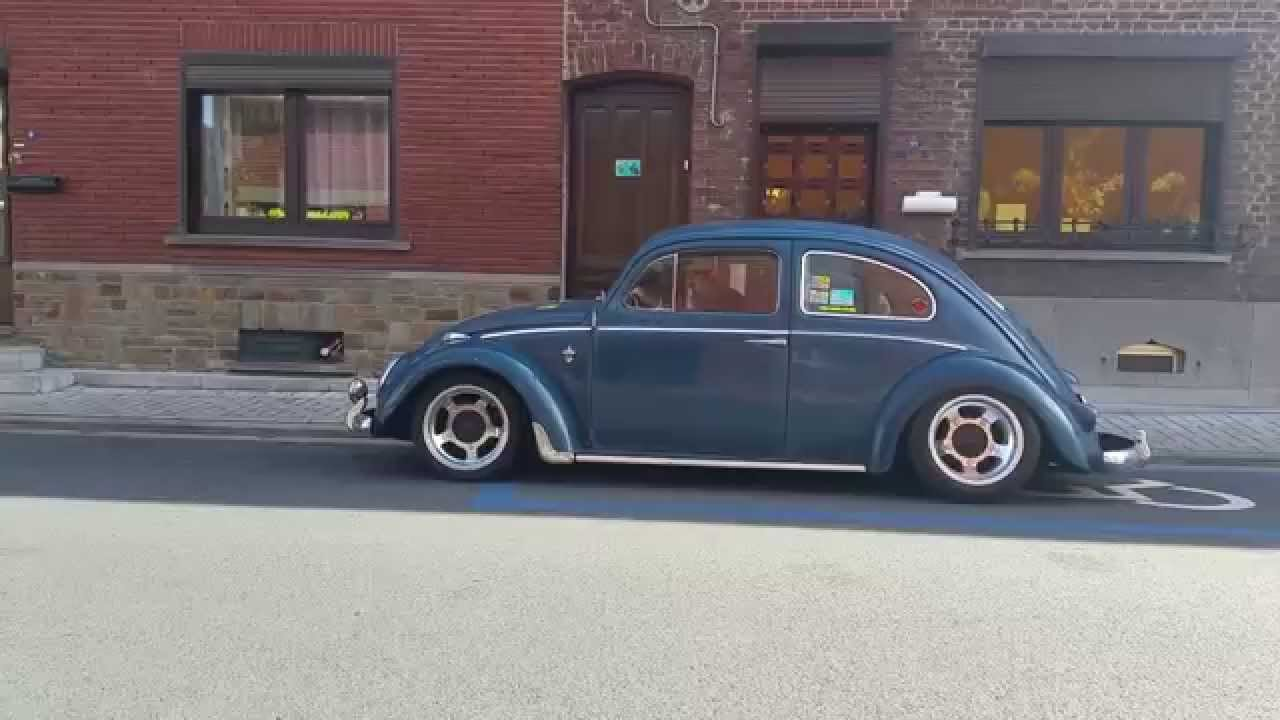 Air Ride VW Cox / Kever / Kafer / Beetle - YouTube