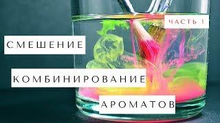 Часть 1. СМЕШЕНИЕ или НАСЛАИВАНИЕ ароматов | Как это делать? | 2 ПРИНЦИПА комбинирования парфюмов