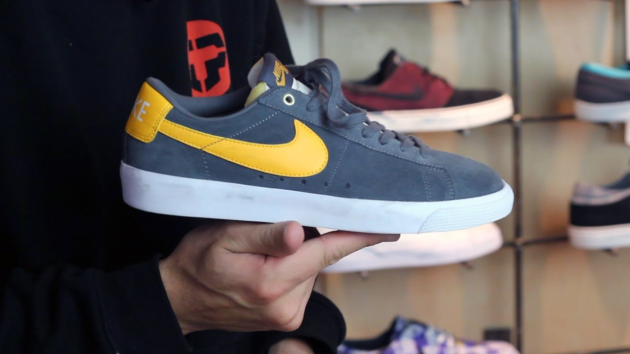 Nike SB Blazer Low GT Skate Shoes Review - Tactics.com