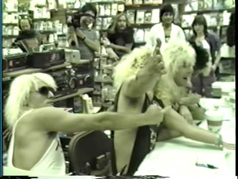 King Kobra - Instore appearance-Camelot Music-La Plaza Mall, McAllen, Texas 4/22/86