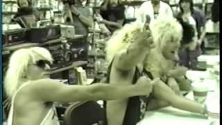 King Kobra - Instore appearance-Camelot Music-La Plaza Mall, McAllen, Texas 4/22/86