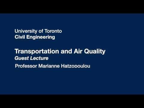 Transportation and Air Quality - Guest Lecture
