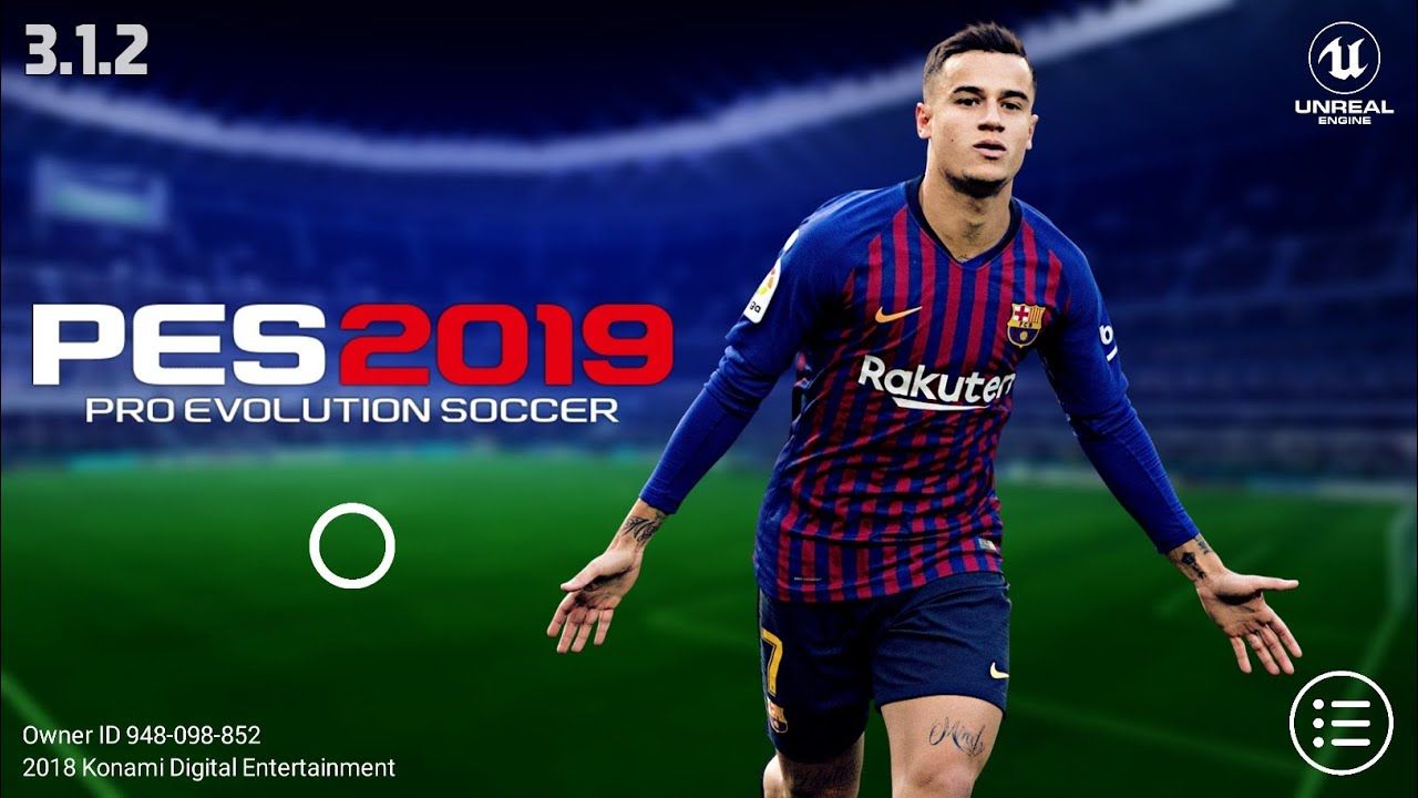 PES 2019 Mobile v3 1 2 New Graphics,Kits Patch Android Best Graphics